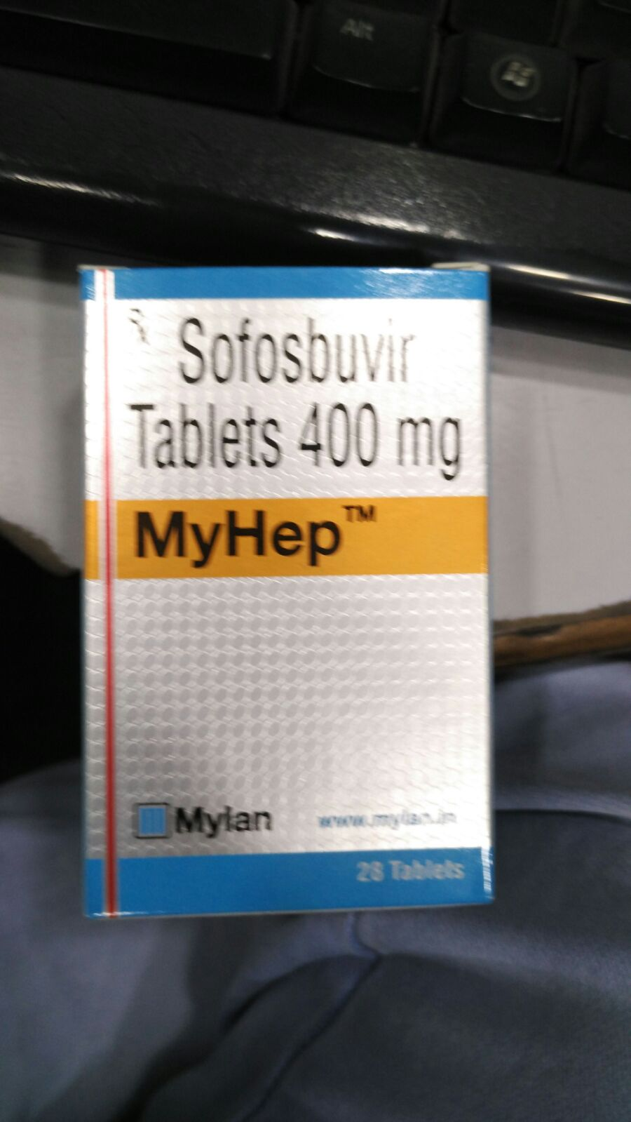 Sofosbuvir, Sovaldi, Hepcinat