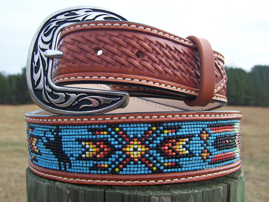 Western Beaded Belts