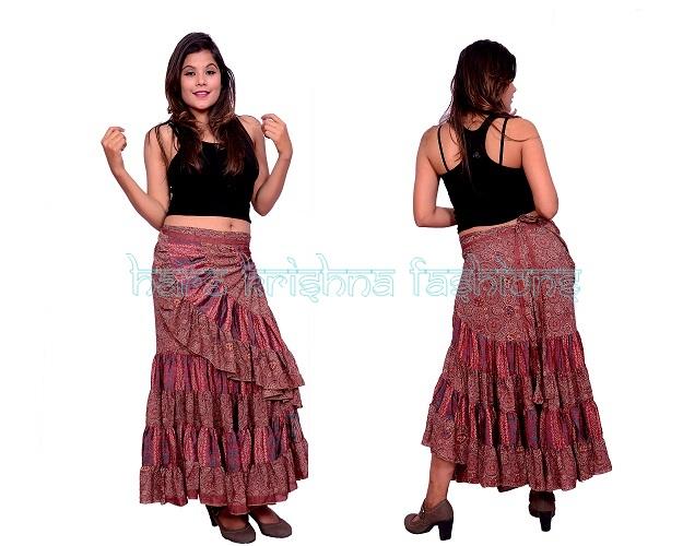 Silk Wrap Magic Skirt