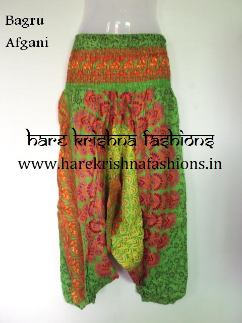Rayon Mandala Bagru Afgani Trouser