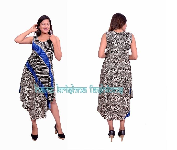 Silk Less Umb. Dress