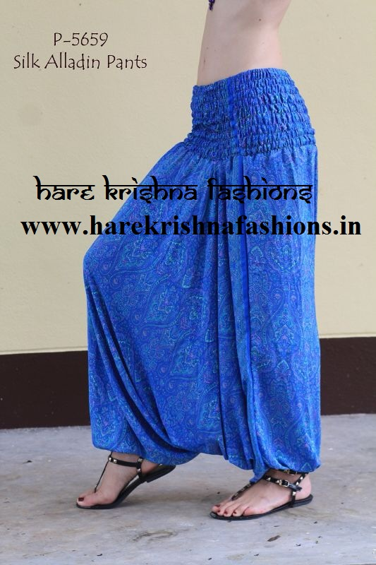 Silk Afgani trouser