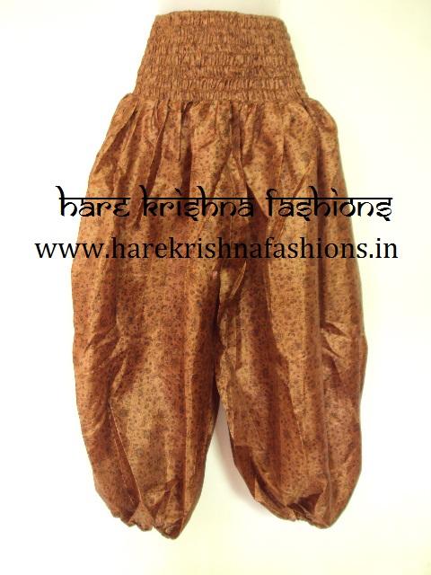 Silk Ballon Trouser