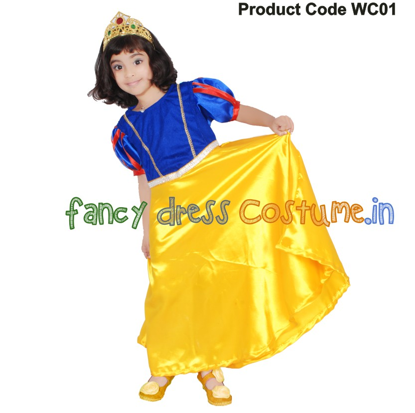 Snow white Fancy Dress Costume India