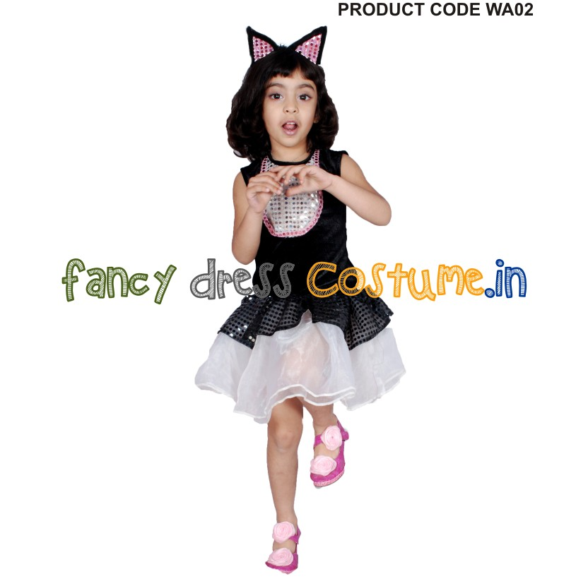 western fancy dress cat frock india costume