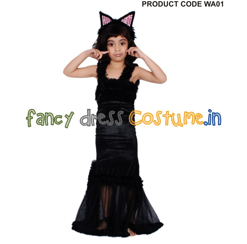 western fancy dress cat gown india costume