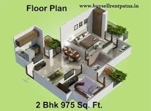 2 bhk flat in Patna