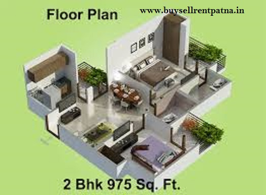 2 BK Flats in Patna