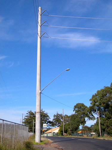 Concrete Electric Poles : Home princeconcretes