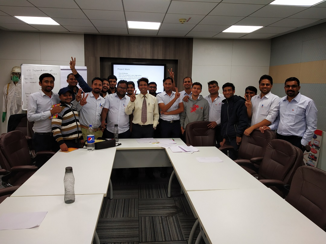 5S Training at Asian Paints