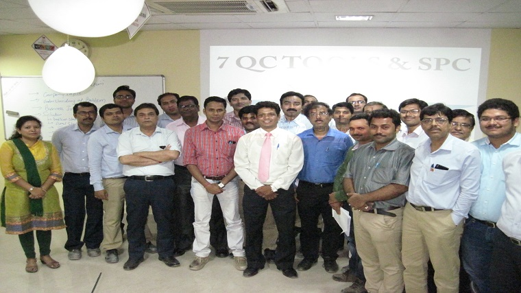 7 QC Tools Training in Aditya Birla Insulator, Rishra, West Bengal