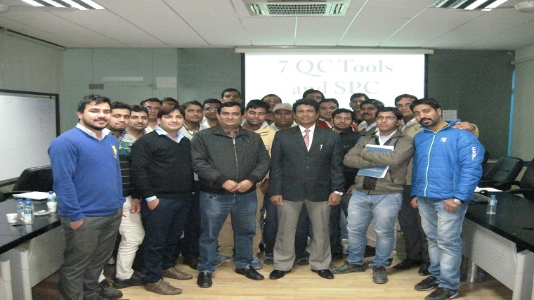 7 QC Tools and SPC Training, Universal Precision Screws, Rohtak, Haryana