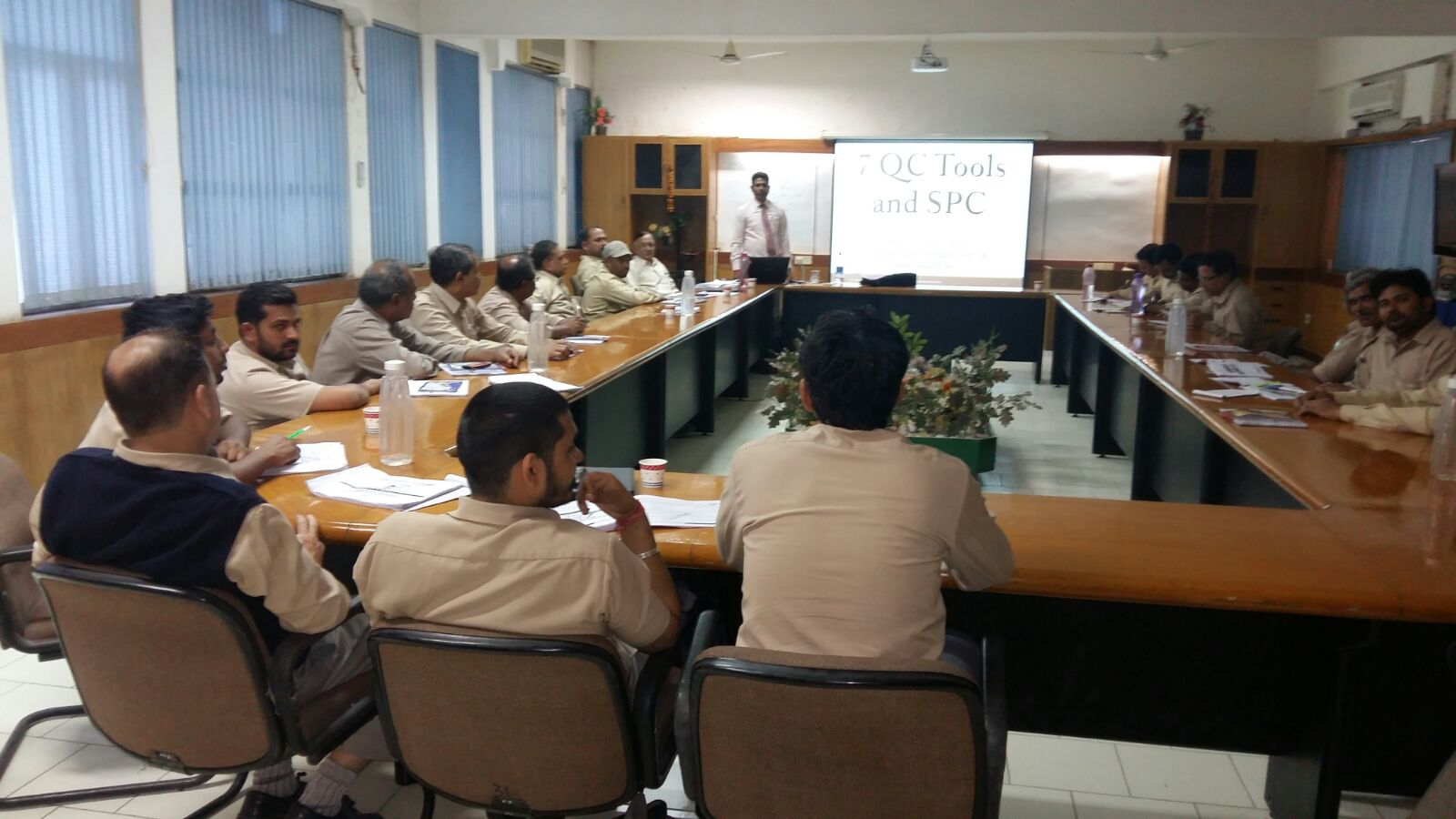 7 QC Tools and SPC Training workshop at Roca Bathroom Products Pvt. Ltd,