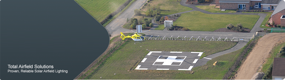 Solar Aviation Lighting product range_365DESIGN_Solar runway lights