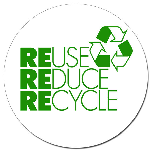 Reuse,Reduce,Recycle