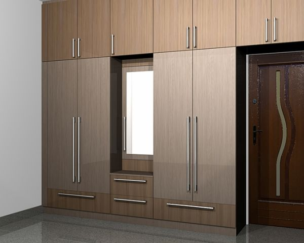 Home interior designers chennai interior designers in for Kitchen wardrobe design