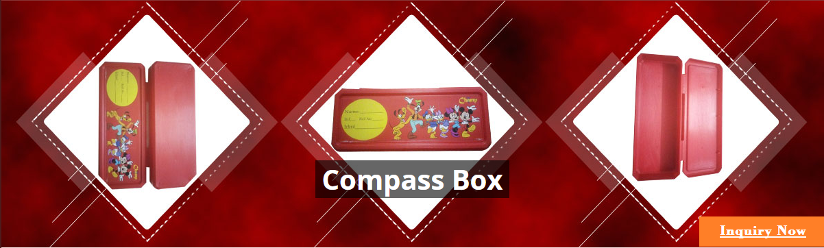 Plastics School Compass Box for sale in Mumbai India